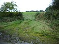 Gate with a muddy approach - geograph.org.uk - 571988.jpg