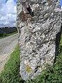 Gatepost and benchmark by Fell Lane - geograph.org.uk - 857038.jpg