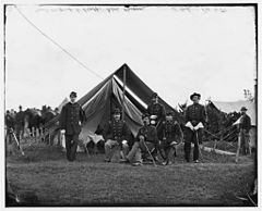 Gen. Robert Nugent and his staff, Irish Brigade, Washington, D.C. (vicinity).jpg