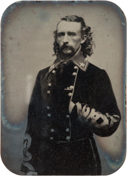 George armstrong custer by william frank browne 1863