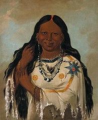 Kay-a-gís-gis, a Young Woman