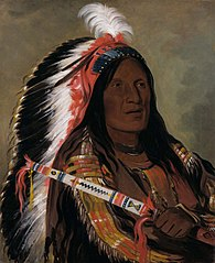 Táh-téck-a-da-háir, Steep Wind, a Brave of the Bad Arrow Points Band