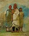 George Catlin - Three Fox Indians - 1985.66.19-21 - Smithsonian American Art Museum.jpg