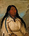George Catlin - Tow-ée-ka-wet, a Cree Woman - 1985.66.178 - Smithsonian American Art Museum.jpg