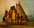 George Catlin - Two Comanche Girls - 1985.66.53-54 - Smithsonian American Art Museum.jpg