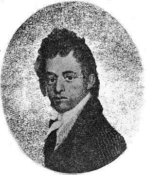 Humehume - Engraved Portrait by Samuel Morse, 1816