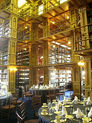 Riggs Library - Image: Georgetown University 40