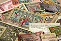 German banknotes in 1917-1919, the town money.JPG