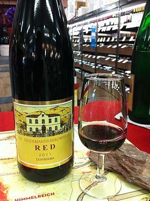 Dornfelder - A Dornfelder wine from Germany.