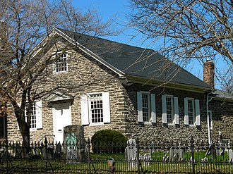 Mennonites - Germantown Mennonite Meetinghouse, built 1770