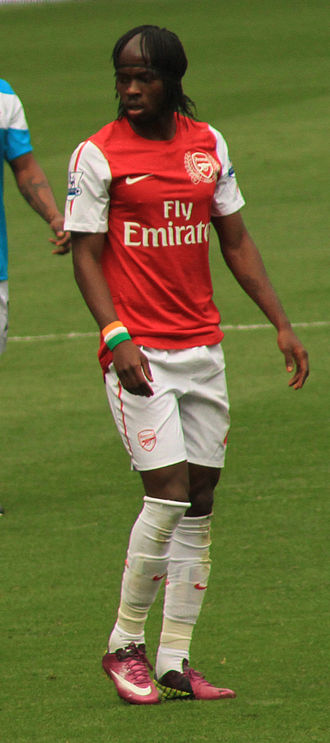 Gervinho - Gervinho playing against Sunderland.
