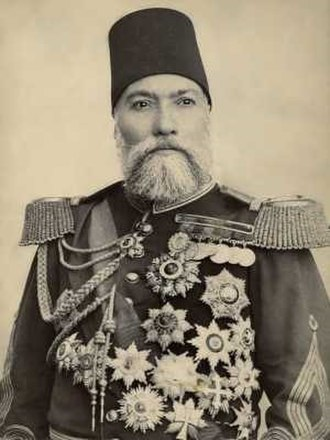 Osman Nuri Pasha - Photograph of Osman Nuri Pasha by the brothers Abdullah Frères, circa 1895