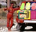 Gianni Lora Lamia Nissan Motorsport Paris-Dakar-Cairo Start SS Dakhla-Dakhla Egypt.jpg