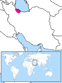 Gilaki Language Location Map.PNG
