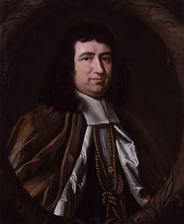 Gilbert Burnet Scottish theologian and historian, and Bishop of Salisbury