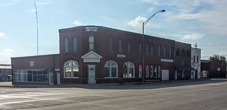 National Register of Historic Places listings in Blaine County, Oklahoma - Image: Gillespie Building 1