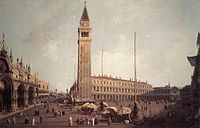 Giovanni Antonio Canal, il Canaletto - Piazza San Marco - Looking South-West - WGA03960.jpg