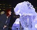 Git Scheynius and Ai Weiweis Ice Sculptures Nov 2014.jpg