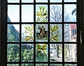 Glass painting on a window in the Burmeister house, Visby, Gotland 3.jpg