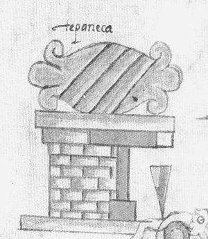 Tepanec - Glyph denoting Tepanecs
