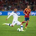 Gonzalo Jara - Spain vs. Chile, 10th September 2013.jpg