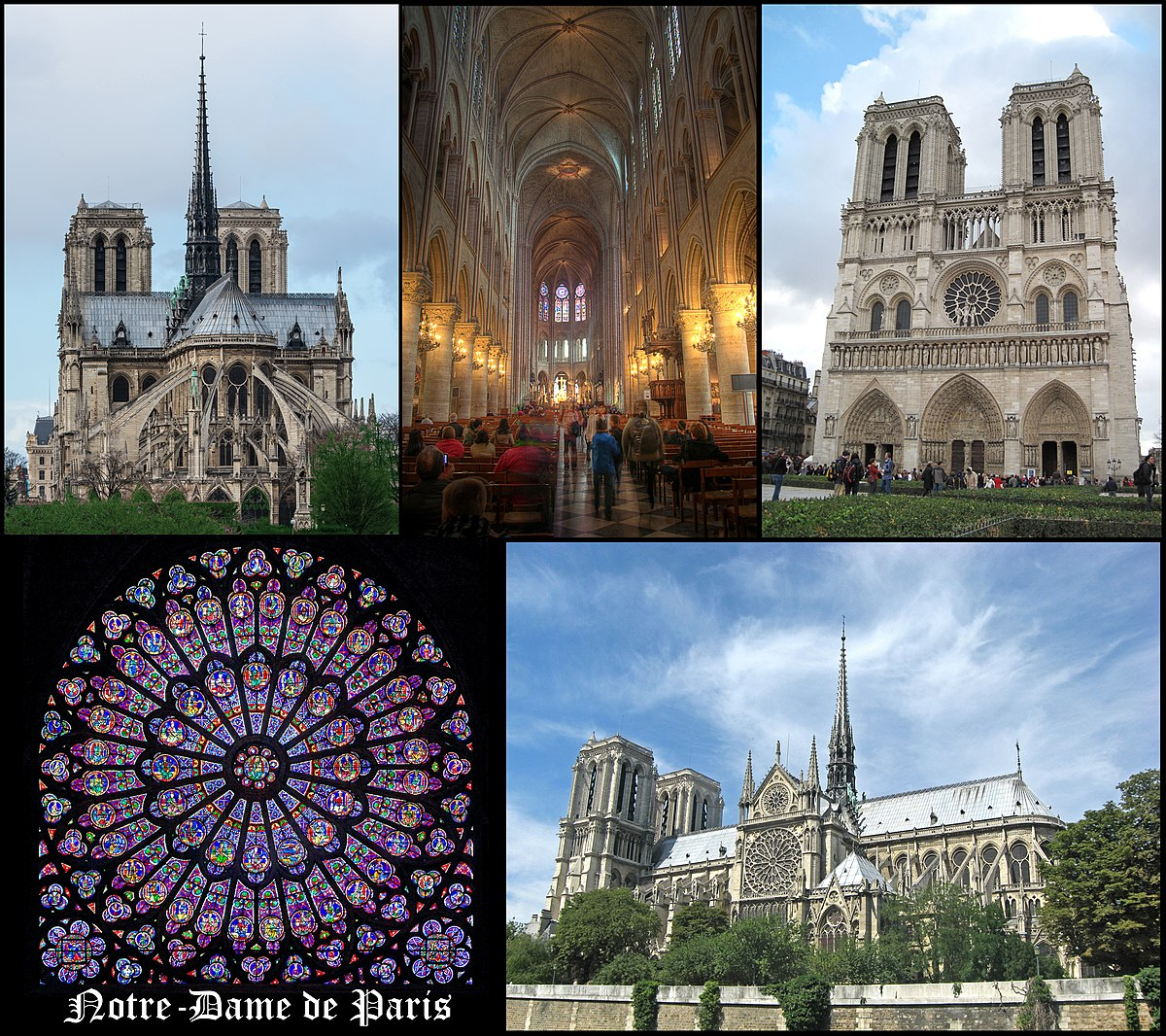 cath drale notre dame de paris wikimedia commons. Black Bedroom Furniture Sets. Home Design Ideas