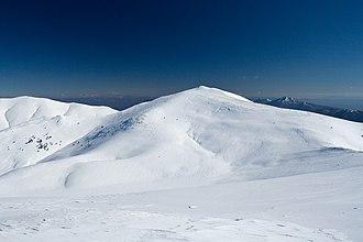 Slavyanka (mountain) - Gotsev Vrah (2,212 m)