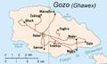 Gozo Island CIA map.png