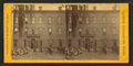 Grammar school, showing boys and girls lined up ready to go in, by W. Battelle.png