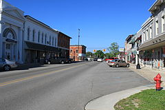 Grass Lake downtown Michigan Ave. facing west.JPG