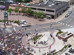 Great Lakes Folk Festival Aerial