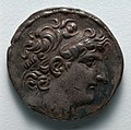 Greece, late 2nd century BC - Tetradrachm- Head of Antiochus VIII (obverse) - 1916.974.a - Cleveland Museum of Art.jpg