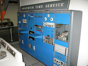 Greenwich Time Signal - The machine used to generate the pips in 1970