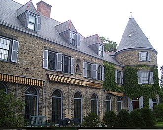 Grey Towers National Historic Site - Image: Grey Towers front facade