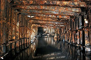 Grinkle Mine Former ironstone mine in North Yorkshire, England