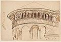 Groß St. Martin, Zwerggalerie, Zeichnung von Oscar Bluemner.jpg