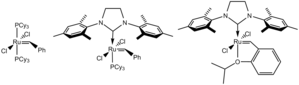 Olefin metathesis - Common Grubbs catalysts