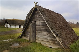 Pit-house - A reconstruction