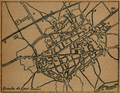 Guía del Viajero en España y Portugal (1887) plano de Alcalá de Henares.png