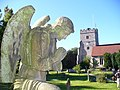 Guardian Angel, Cookham Churchyard - geograph.org.uk - 516755.jpg