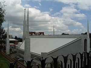 Religion in Guatemala - The Mormon Guatemala City Temple.