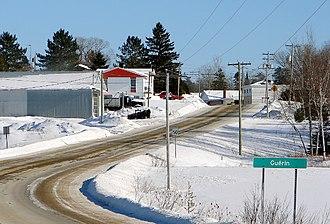 Guérin, Quebec - Image: Guerin QC
