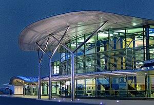Forest, Guernsey - Guernsey Airport terminal