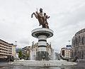 Guerrero a caballo, Skopie, Macedonia, 2014-04-16, DD 21.JPG