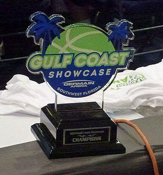 2014–15 Connecticut Huskies women's basketball team - Gulf Coast Showcase Championship trophy 2014
