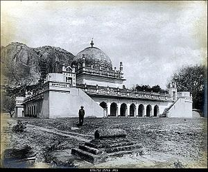 Gurramkonda - Nawab Mir Raza Ali Khan's tomb, Maqbira, Gurramkonda