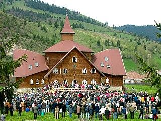 Lunca de Sus Commune in Harghita, Romania