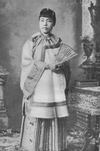 Medical missions in China - Fuzhounese Hü King Eng on graduation from the Woman's Medical College of Philadelphia in 1894.