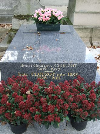 Henri-Georges Clouzot - Henri-Georges Clouzot's tomb at the Montmartre Cemetery.