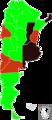 H1N1 Argentina (mortalidad 1107) Map.png